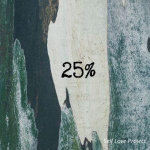Besoins et couple : 25% de tes besoins doivent être comblés par ton/ta partenaire.