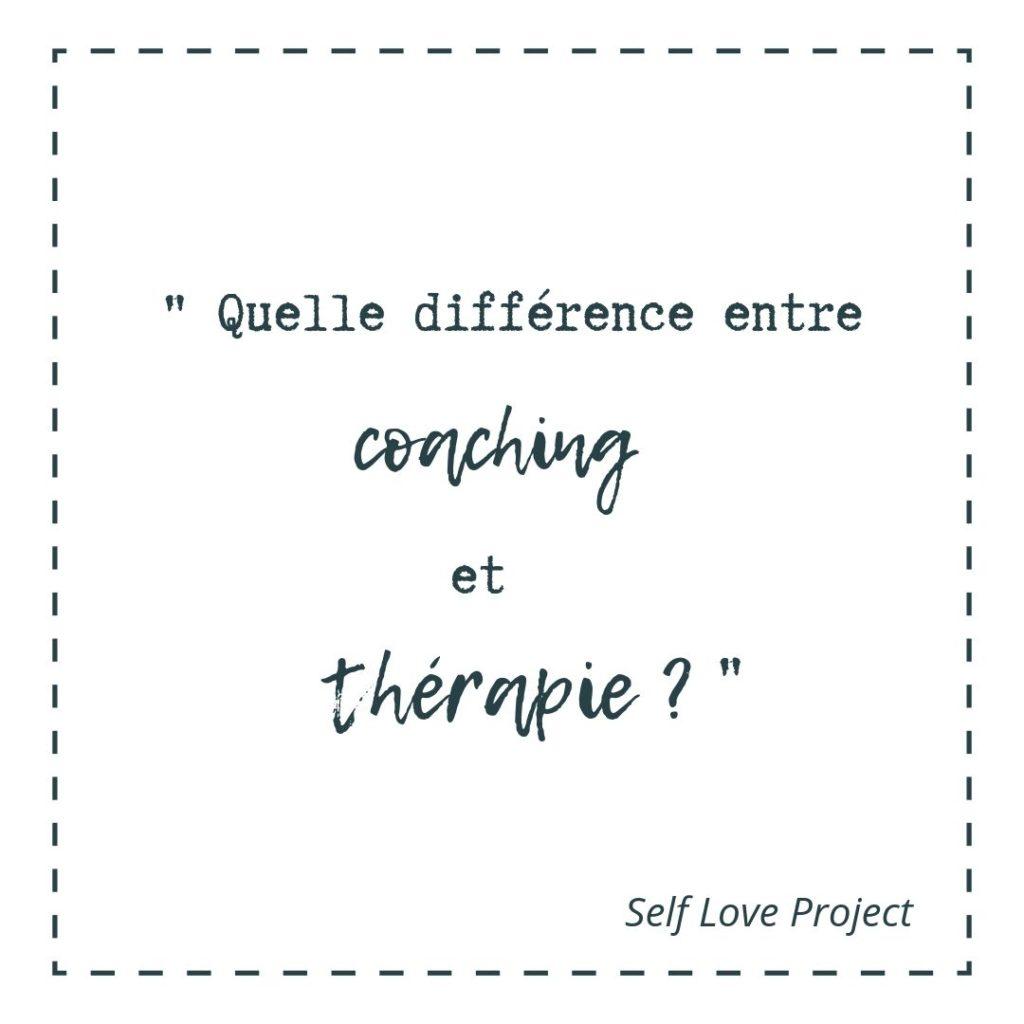quelle est la différence entre le coaching et la thérapie