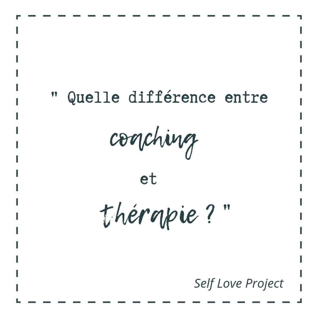 Coaching et thérapie : quelle est la différence entre les eux ?
