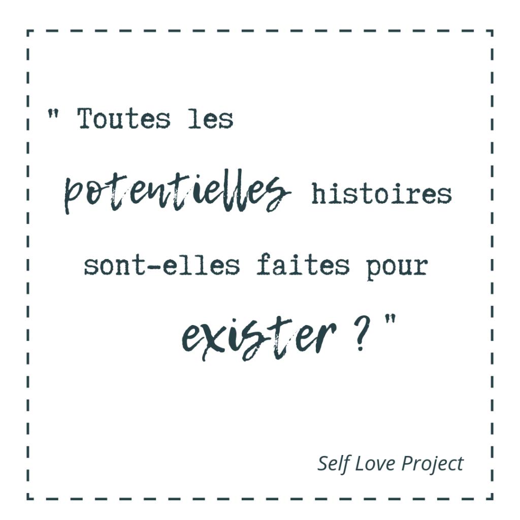 amour impossible potentielles histoires