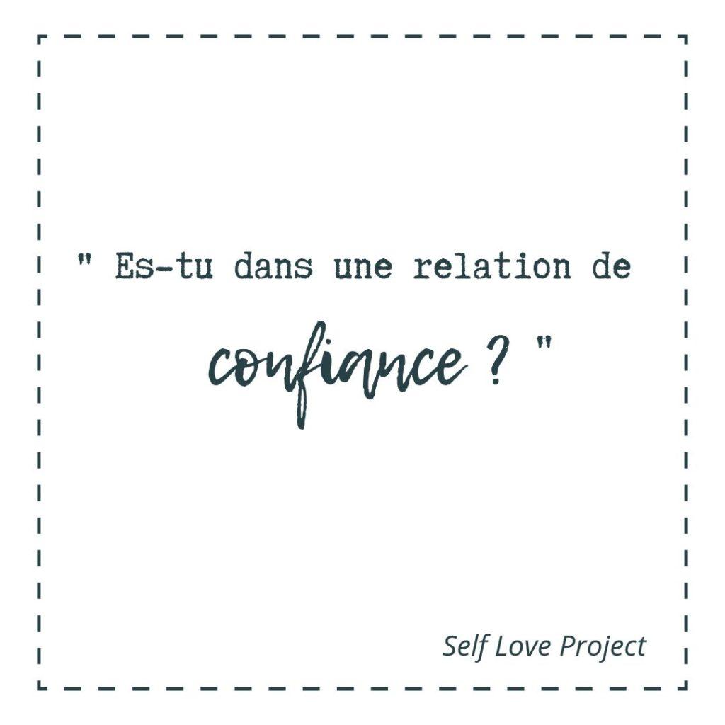relation de confiance
